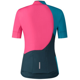 Shimano Sumire Jersey Women, red/navy